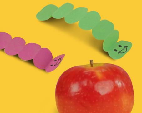 Crawling Paper Caterpillars