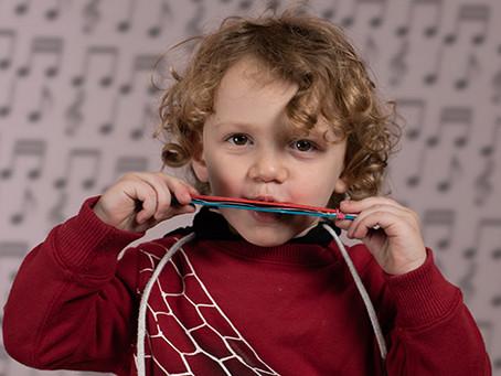 DIY Harmonica for Kids