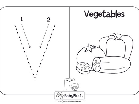 Coloring Pages - Letters V-X