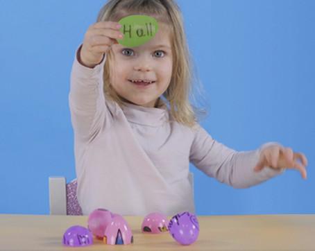 Spelling Easter Eggs