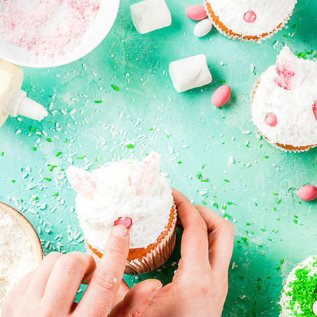 DIY Animal Birthday Cupcakes