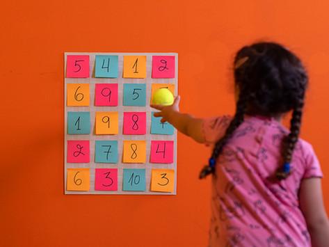 Math Toss Game