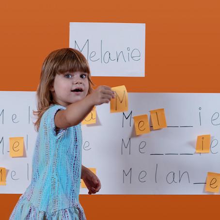 Name Board – Basic Letter Recognition Activity