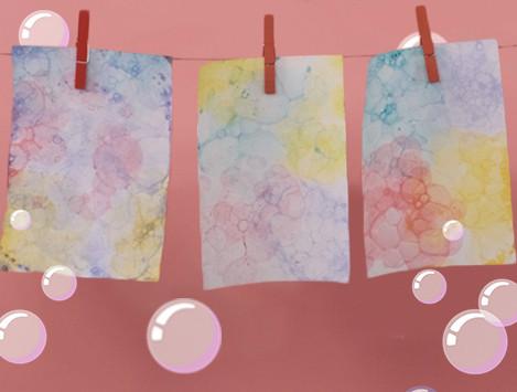 Paint with Bubbles