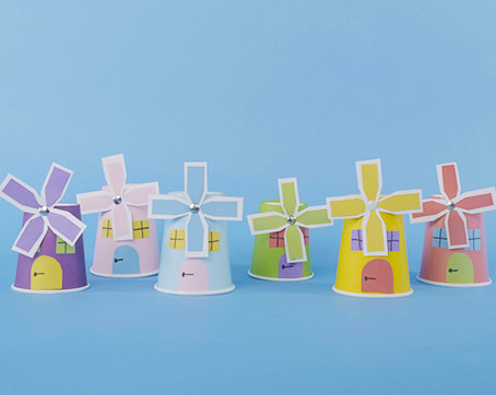 Paper Cup Windmill