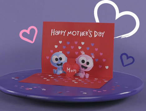 Babyfirst Pop-Up Mother's Day Card