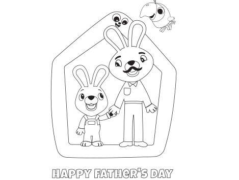 Babyfirst Happy Father's Day Card