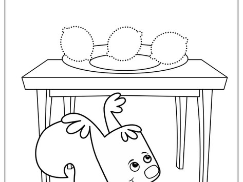 Color the Fruits! Free Printables