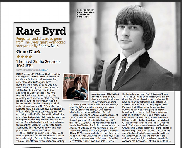 Gene Clark The Lost Studio Sessions MOJO review
