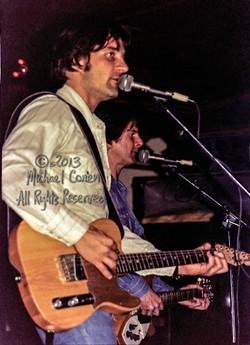 Gene Clark and Roger McGuinn