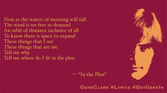 In The Plan