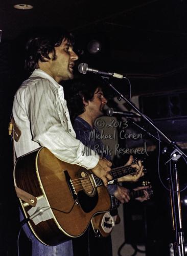 Gene Clark and Roger McGuinn 4/14/78