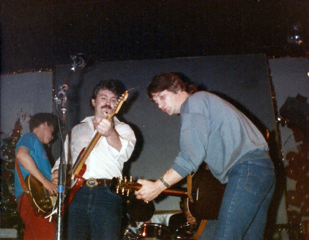 Gene Clark and Rick Roberts