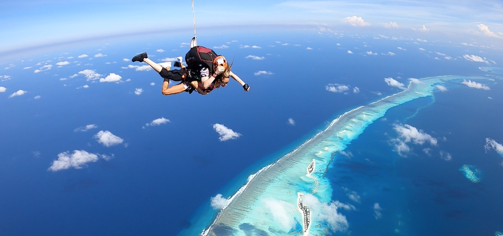 Skydive maldives