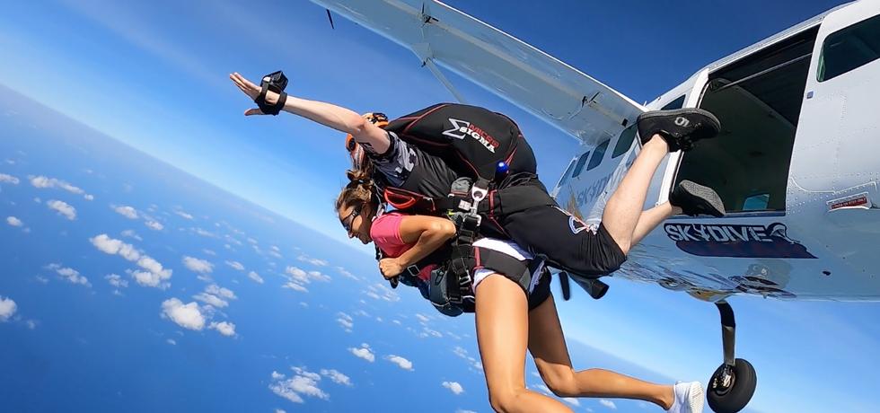 Tandem skydive at 12000feet