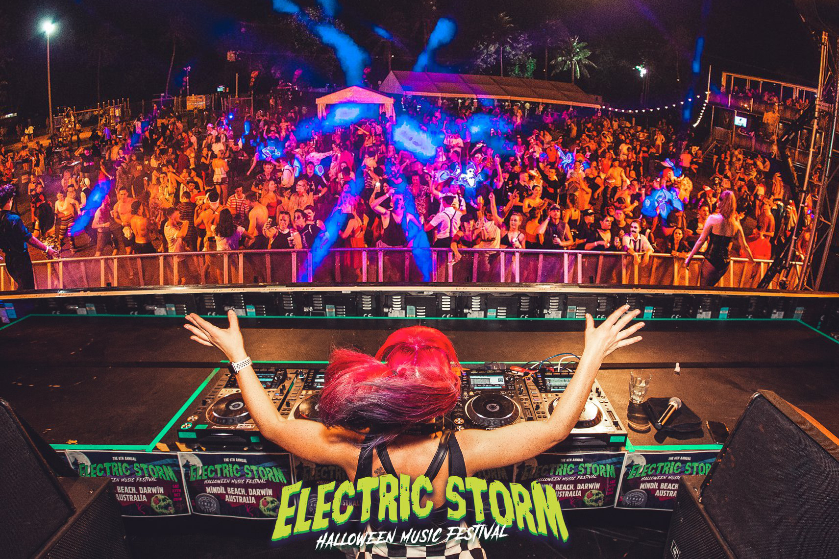 Holly-J - 01 - Electric Storm 2018