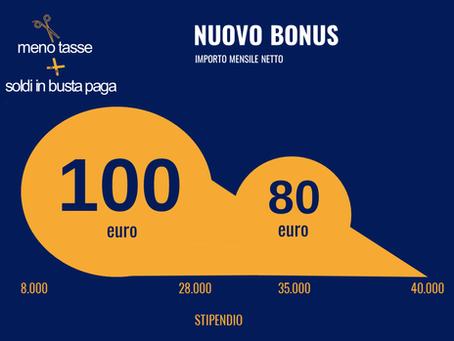 Bonus Renzi 2020, ecco cosa cambia