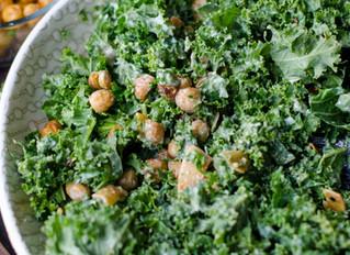 Wasabi Kale Salad