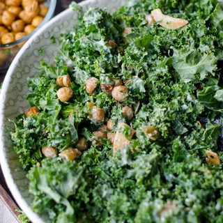 Kale Salad Bowl with Tahini