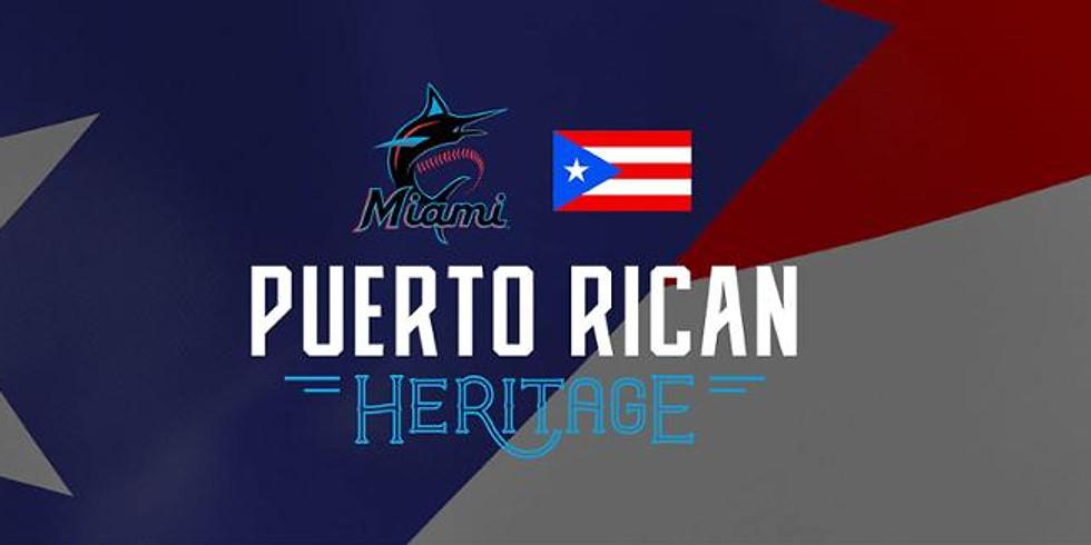 Miami Marlin's Puerto Rican Heritage Night