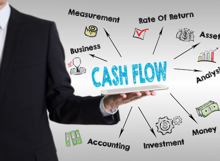 The difference between cash flow and profits