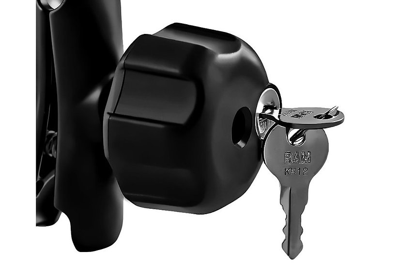 RAM ACC - SECURITY LOCK ( WITH BRASS KEYS)