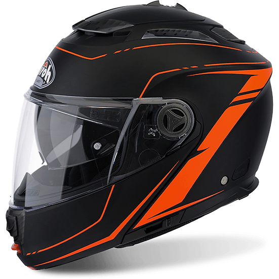 Airoh Phantom S Lead matt Orange