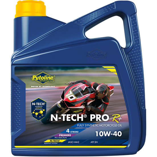 Putoline N-Tech Pro R 10W-40 Oil 4 LTR