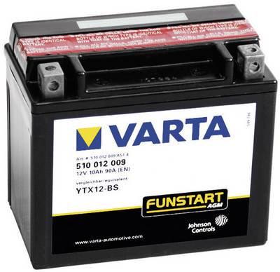 VARTA YTX 12 - 4 / YTX 12 - BS Motorcycle battery