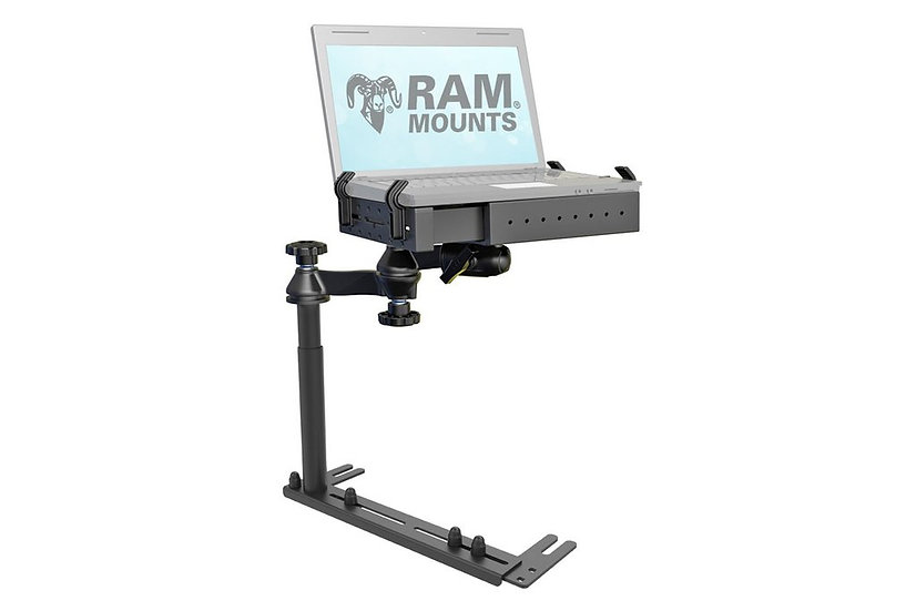 RAM NO-DRILL UNIVERSAL LAPTOP MOUNT WITH REVERSE CONFIGURATION