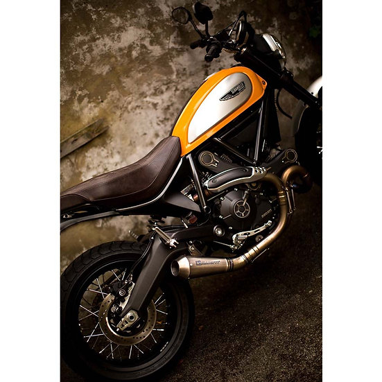DUCATI SCRAMBLER URBAN GROWLER SLIP-ON