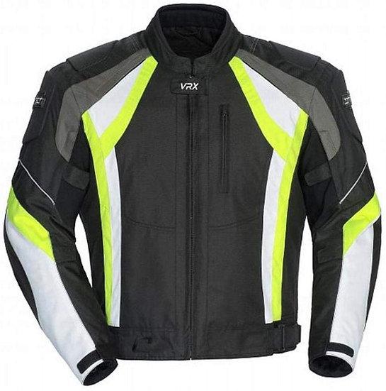 Cortech VRX Air Jacket - Black/Hi-Viz