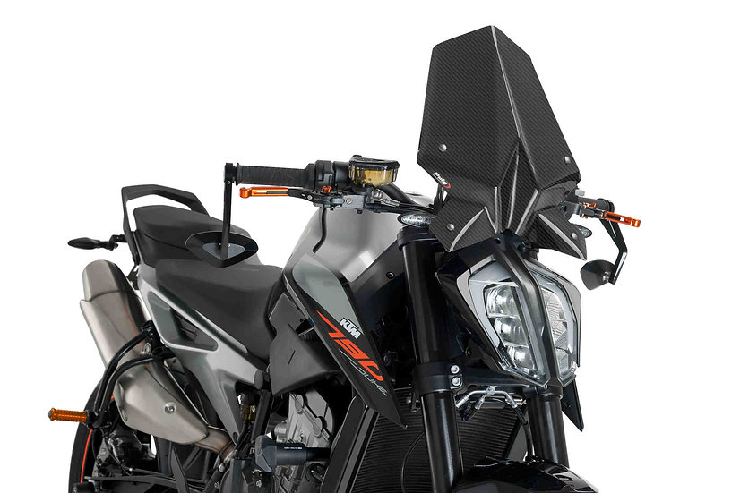 PUIG Windshield Naked New Gen. Sport for KTM Duke 790 2019