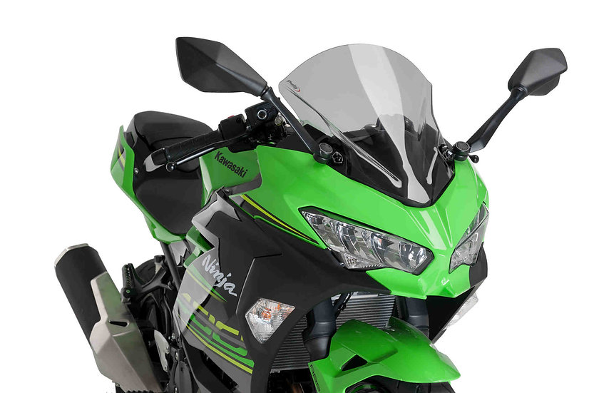 PUIG Z Racing Screen for Kawasaki Ninja 400 2018-2020