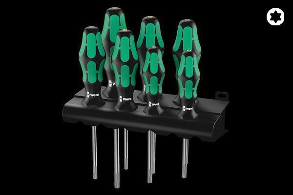 SCREWDRIVER SET - TORX SCREWS WITH HOLDING FUCNTION (367/7)