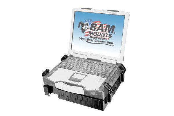 RAM UNIVERSAL LAPTOP TOUGH-TRAY™ CRADLE