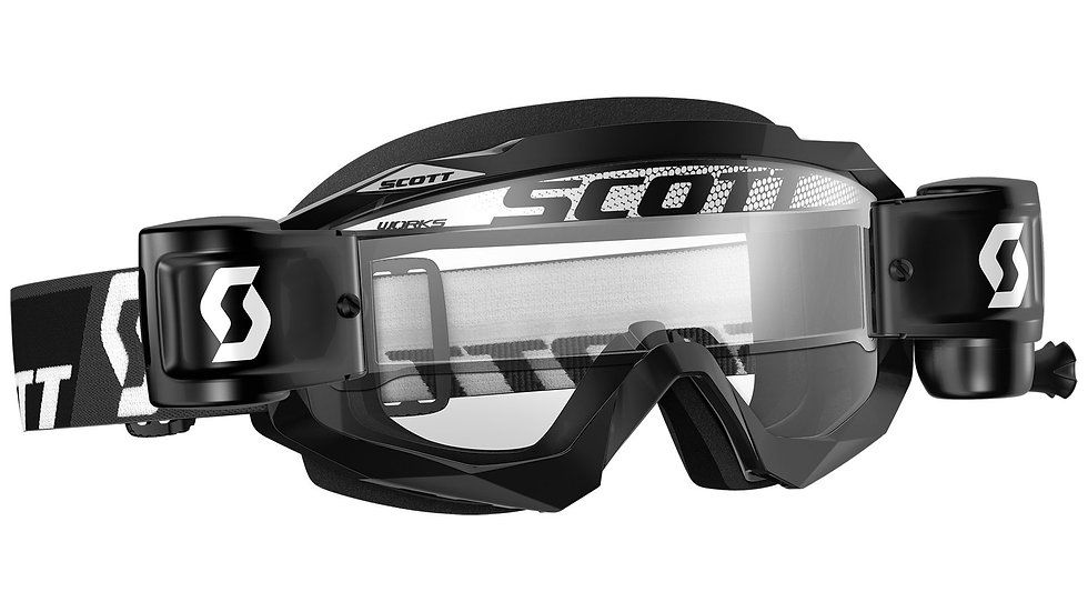 Scott Hustle Mx Wfs Goggle Motorcycle Goggles Motocross