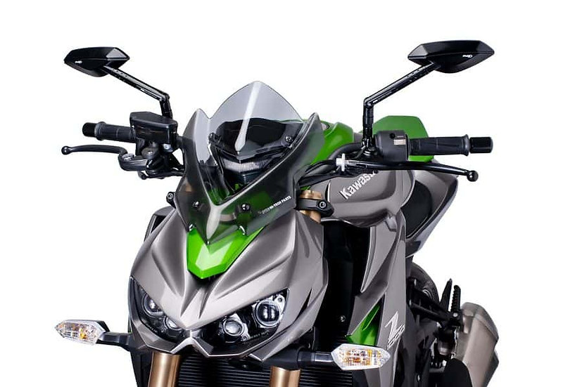 PUIG Windshield Naked New Gen. Sport Kawasaki Z1000 2014-19