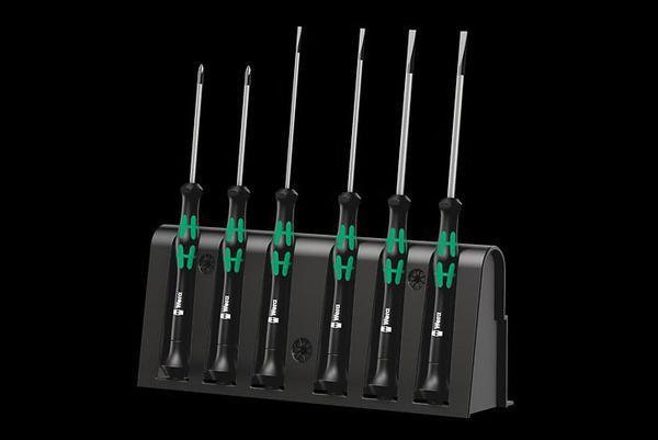 SCREWDRIVER MICRO SET - SLOTTED + PHILIPS - ELECTRONIC 2035/A