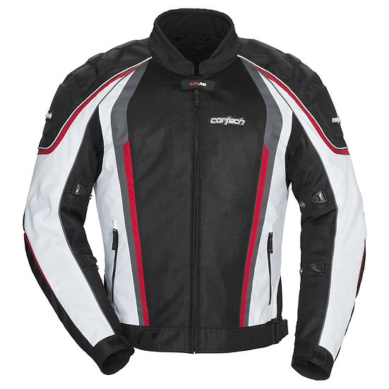 Cortech GX Sport Air 4 - Black White & Red
