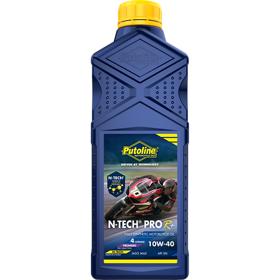 Putoline N-Tech Pro R 10W-40 Oil  1000 Ml