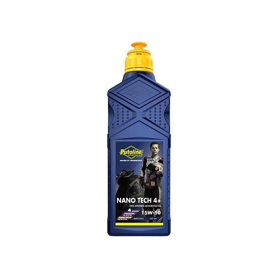 Putoline NanoTech 4 + 15W-50 Oil 1Ltr 1000ml