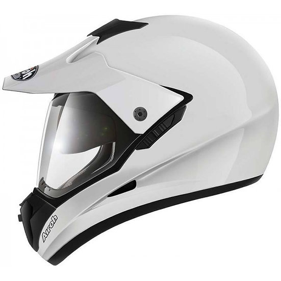 Airoh S5 Color White Gloss Helmet