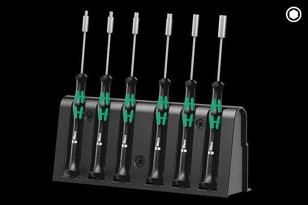 SCREWDRIVER MICRO SET - HEX SCREWS - ELECTRONICS (2069/6)