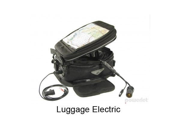 ELECTRICAL WIRING FOR TANK BAGS & SADDLEBAGS - COMPLETE KIT