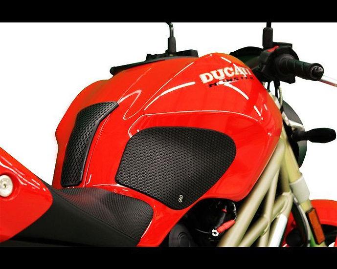 DUCATI 696 / 795 / 796 / 1100 MONSTER (2009 - 13) SnakeSkin Tank Grips