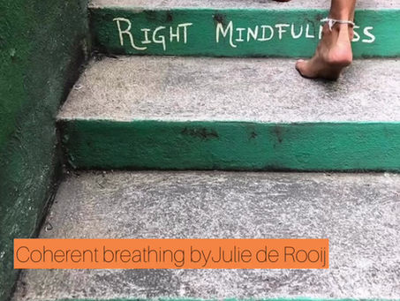 BREATHING EXERCISE - SLOW DOWN - COHERENT BREATHING by The Yogi Psychologist – Julie de Rooij (MSc)