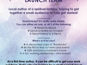 Would you take part in a book launch?