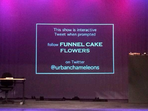 Funnel Cake Flowers & The Urban Cham