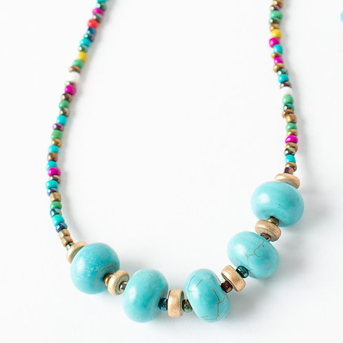 Colorful Turquoise Necklace